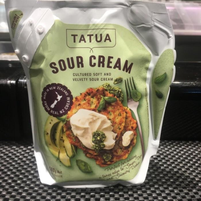 Jual Tatua Sour Cream New Zealand 500 Gr Jakarta Barat Kespermarket Tokopedia