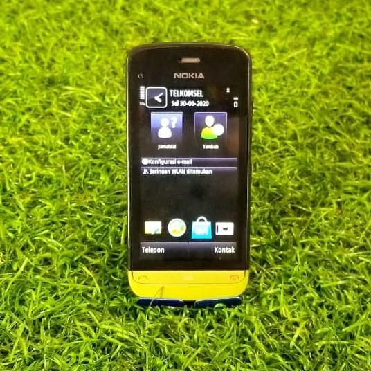 Foto Produk HP Jadul Nokia C5-03 C5 03 Touchscreen Symbian Mulus Not C7 or C3 dari BaBeQu Shop