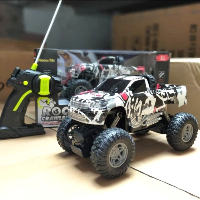 Foto Produk RC Rock Crowler Jeep Offroad 2WD - Mainan Mobil Remote Control dari ZhafiraCorps