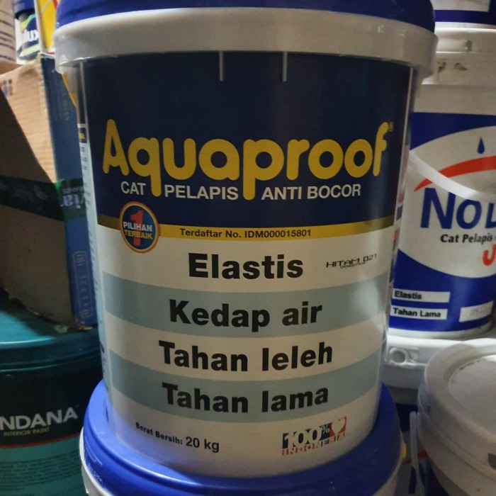 Jual Cat Tembok Anti Bocor Waterproofing AQUAPROOF warna ...