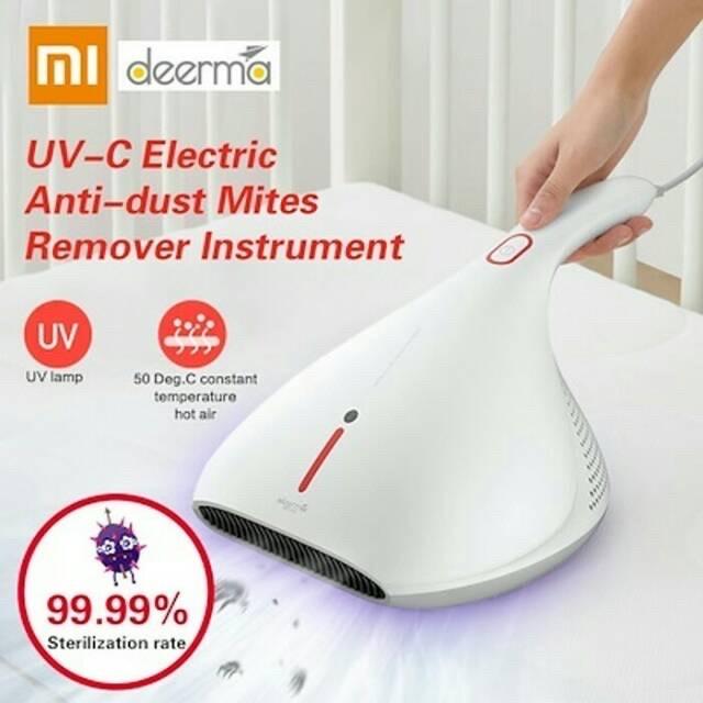 Foto Produk xiaomi deerma vacuum cleaner UV anti tungau penyedot debu kasur sofa dari Vilox