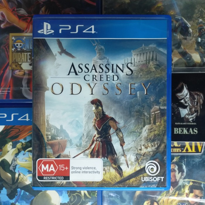 Jual Assassins Creed Odyssey Ps4 Playstation 4 Preowned