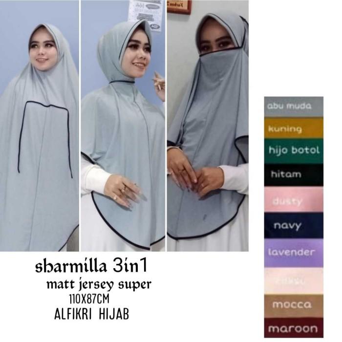 Jual Hijab Jilbab Niqob Jilbab Masker Jilbab Cadar Sharmilla 3 In 1 Kota Cimahi Grosirnya Hijab Jilbab Tokopedia