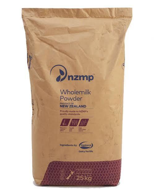 Foto Produk Susu Full Cream NZMP Fonterra Wholemilk - Zak 25kg dari Kalimantan Toko