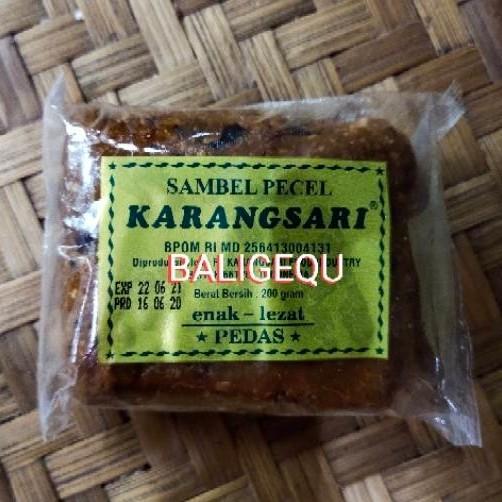 Foto Produk Sambel Pedas KARANGSARI dari Baligequ