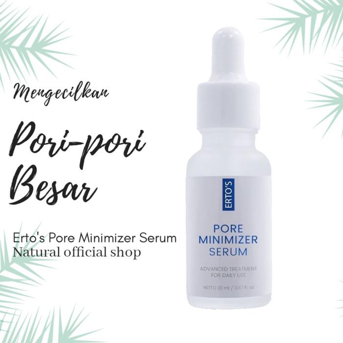 Jual Ertos Pore Minimizer Serum Kab Tangerang Natural