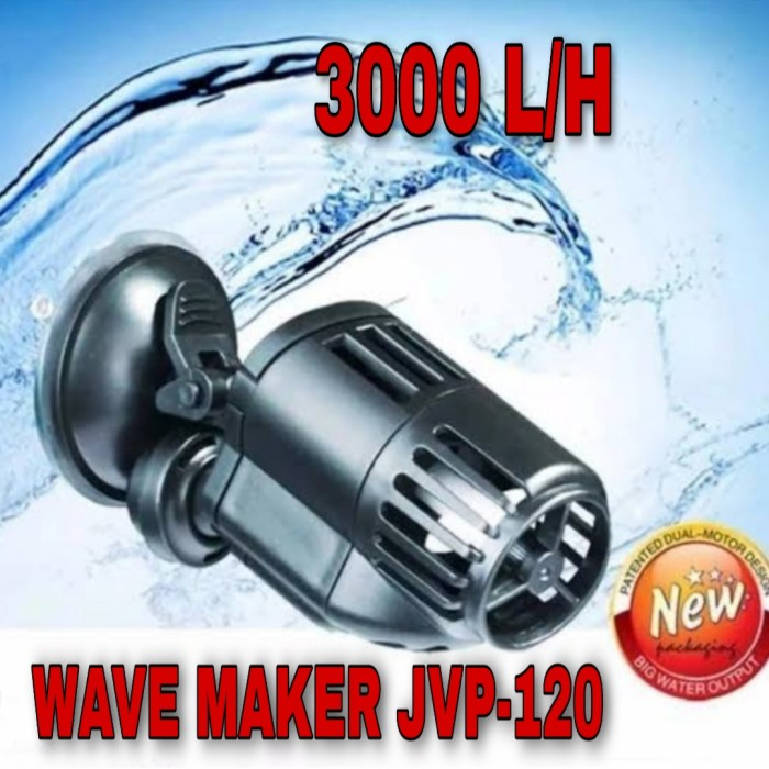 Foto Produk Wave Maker JVP-120 3000L/H Pembuat Ombak dari GG outlet