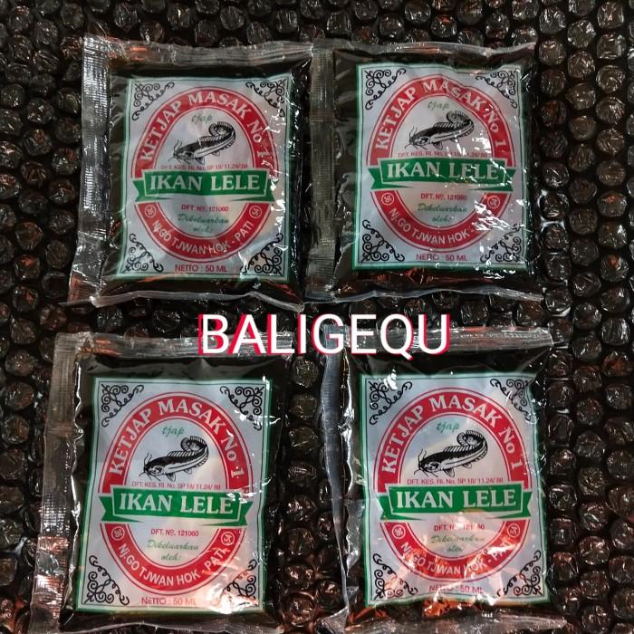 Foto Produk Kecap Manis cap Ikan Lele 50 ml dari Baligequ