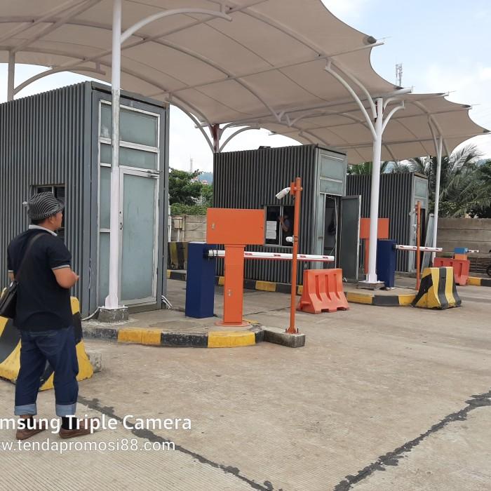 Foto Produk Tenda Membrane / kanopi Membrane / Payung Membrane dari Berkah Media Promosi