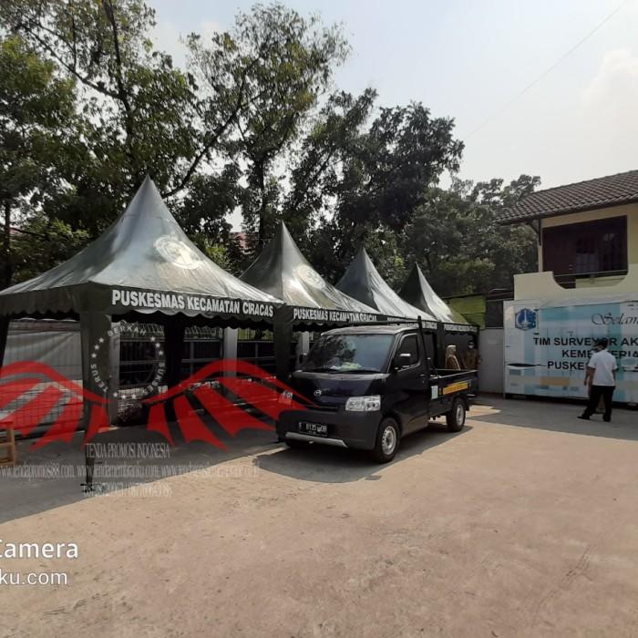 Foto Produk Tenda Lipat | Payung Cafe parasol / Tenda Cafe Kerucut dari Berkah Media Promosi