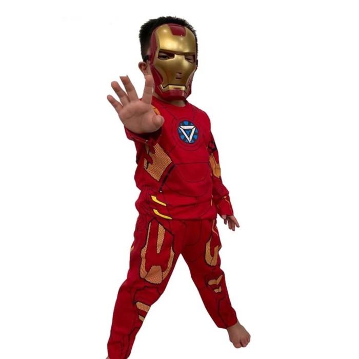 Foto Produk Baju anak kostum ironman size 4-8(2-4thn)/Bahan katun dari Sun-kids