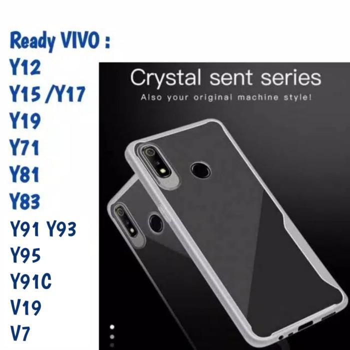 Foto Produk Softcase Vivo Y12 Y19 Y91 Ipaky Bening Focus Case Silicon Casing TPU dari Indo Smart Acc