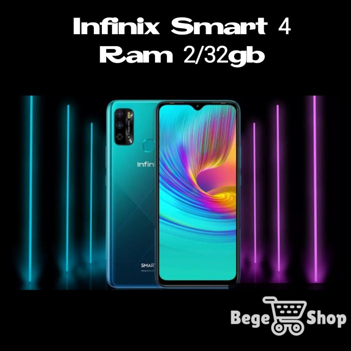 Foto Produk Infinix Smart 4 2/32 Garansi resmi dari BeGe Shop Jogja