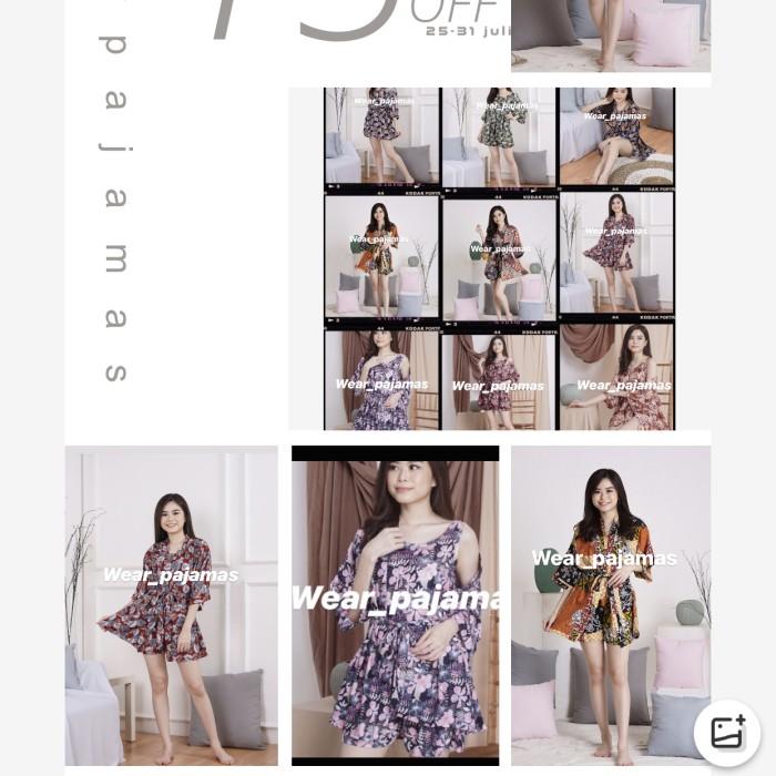 Foto Produk FLAZH SALE KIMONO 3in1 dari Wear Pajamas