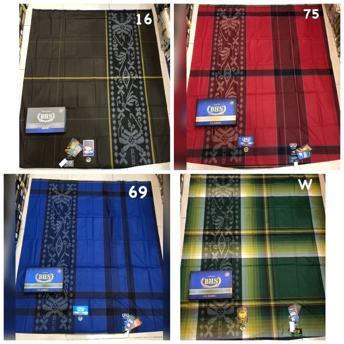 Foto Produk Sarung BHS CLASSIC KNI KMA TKG MIX sarung bhs murah dari kila_shop12