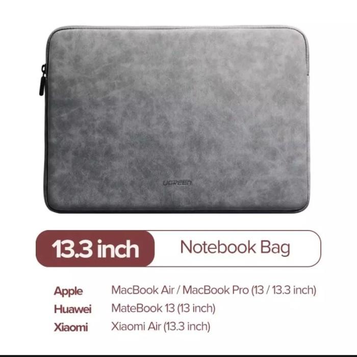 Foto Produk Ugreen sleeve case new macbook leather 13 13.3 inch air pro 2019 2020 dari ORIGINALproducts JAKARTA