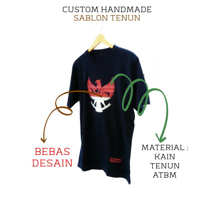 Jual Jual Kaos Custom Design Text Logo Unik Kota Pekalongan Hai Gaes Clothing Tokopedia