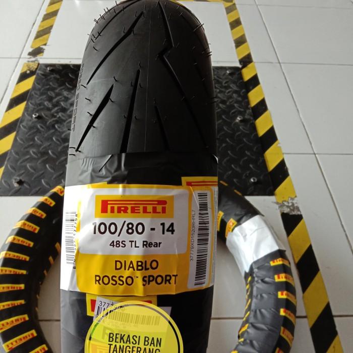 Jual Ban Pirelli Diablo Rosso Sport 100 80 14 Kota Tangerang Bekasi Ban Motor Tokopedia