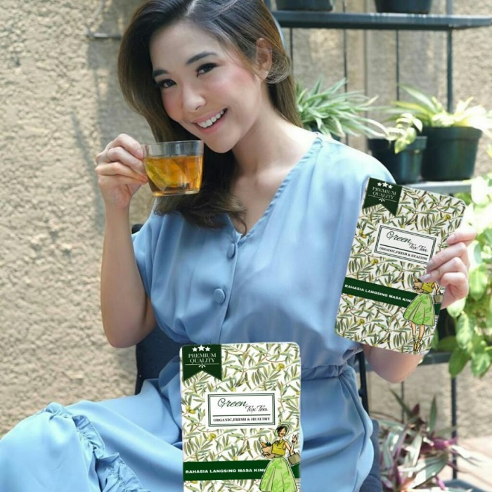 Foto Produk greentoxtea detox dari beauty big breast