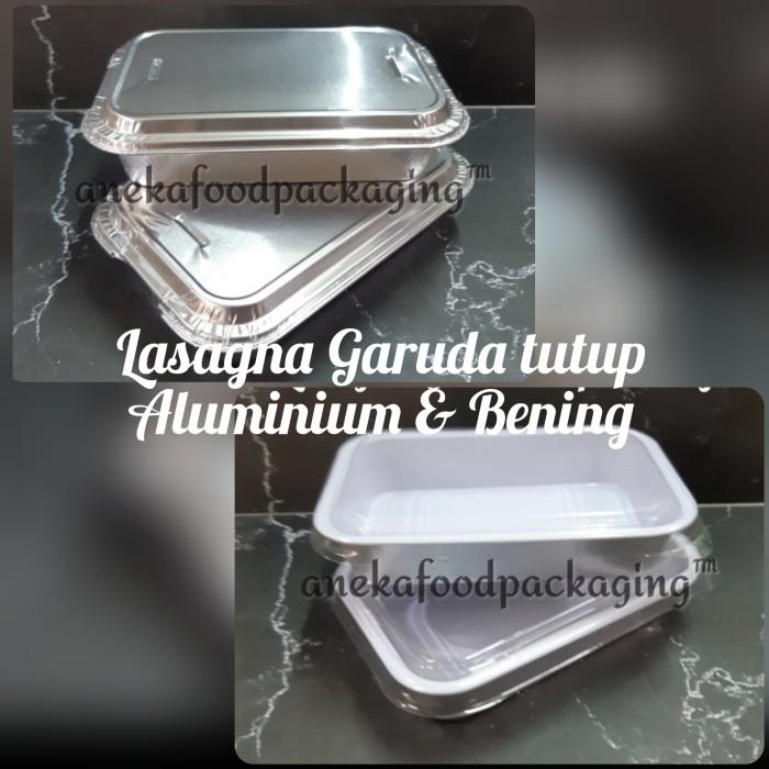 Foto Produk Cup wadah aluminium foil kotak lasagna+tutup dari anekafoodpackaging