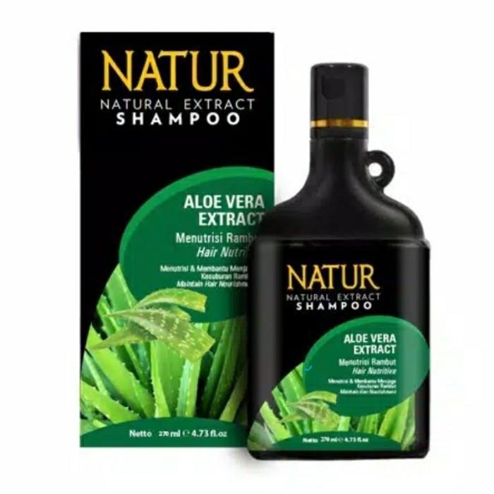Foto Produk shampo natur 270ml - Aloe Vera dari Rowena Cosmetic