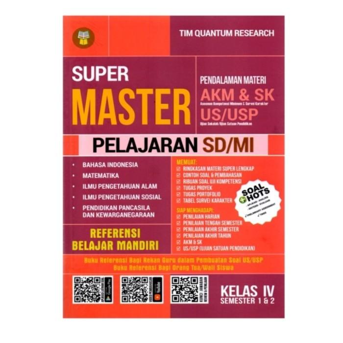Jual Buku Super Master Pendalaman Materi Akm Sk Pelajaran Sd Mi Kelas 4 Jakarta Barat Senang Hati 05 Tokopedia