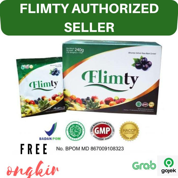 Foto Produk Flimty Fiber 1 Box Pelangsing Ampuh Alami Diet Penurun Berat Badan dari Suplementory Official