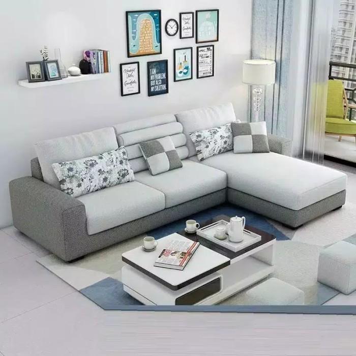 Jual Sofa Ruang Tamu Sofa Minimalis Sofa L Modern Kota Bekasi My Zofa Tokopedia