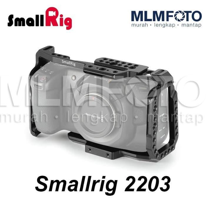 Jual Smallrig Cage For Blackmagic Design Pocket Cinema Camera 4k Bmpcc 2203 Jakarta Pusat Mlmfoto Tokopedia