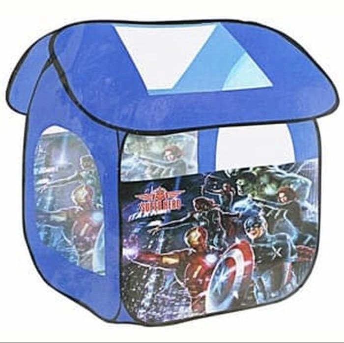 Foto Produk Tenda Mainan Anak Poptent Avenger Super Heroes Captain America IronMan dari Lumi Toys