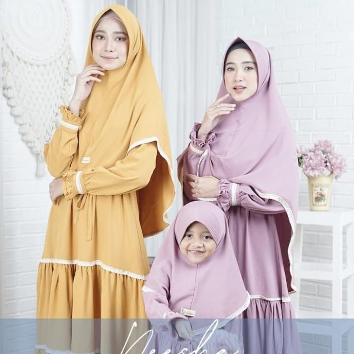 Jual Baju Couple Ibu Dan Anak Perempuan Muslimah Terbaru Mom Set Ocean Blue Xs Kab Bogor Hanania Kins Tokopedia