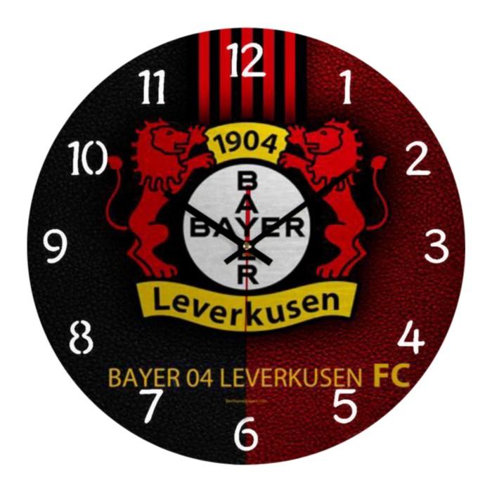 Jual Jam Dinding Bayern Leverkusen 001 Kab Karawang Toko Rizky Fauzan Tokopedia