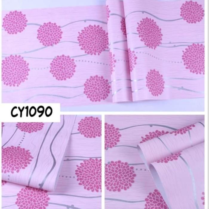 Jual Wallpaper Dinding Warna Pink Motif Kota Medan Sudimampirr Tokopedia