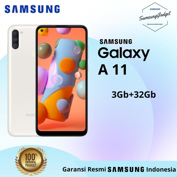 Foto Produk SAMSUNG Galaxy A11 3/32Gb Resmi SEIN - White dari samsunggadgetsby