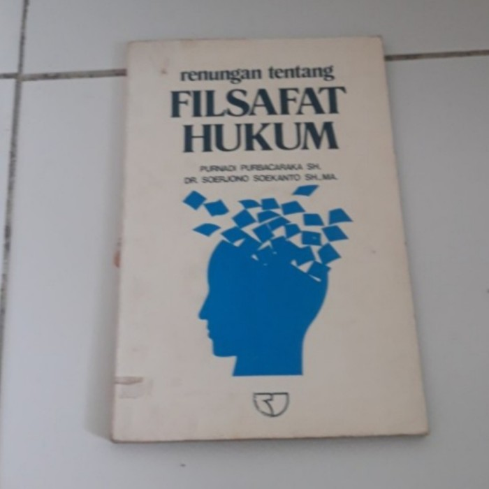Foto Produk Buku Filsafat hukum Purnadi purwacaraka dari iinbuku