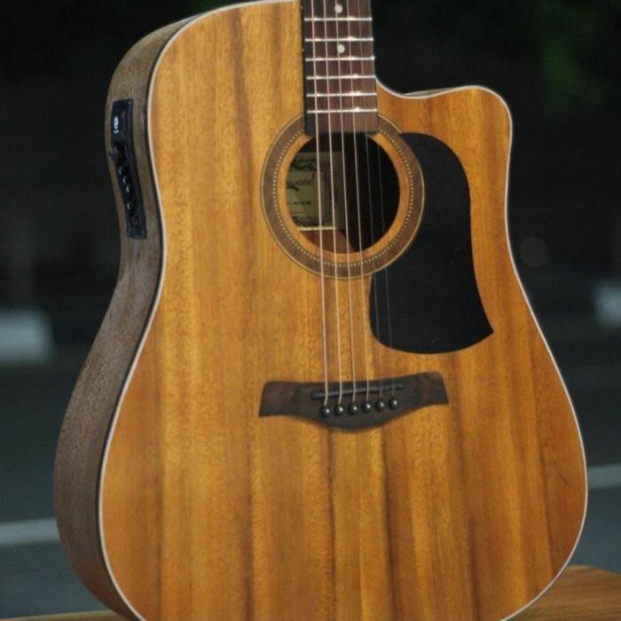 Foto Produk Gitar akustik elektrik Tuner Camwood IWC-235 NSK ORI dari JakartaUndercover.id