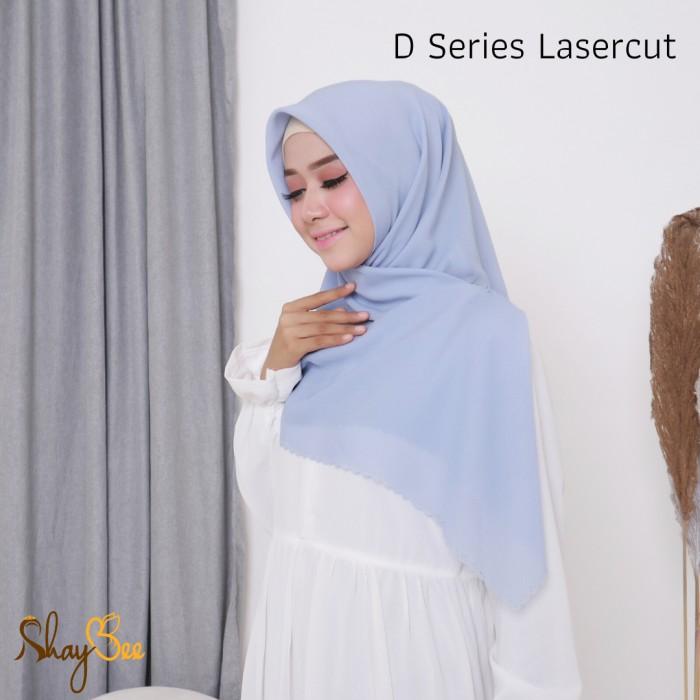 Foto Produk Satuan/Grosir D SERIES LASERCUT (FINE POLLYCOTTON/BELLA SQUARE) dari Shaybee Hijab