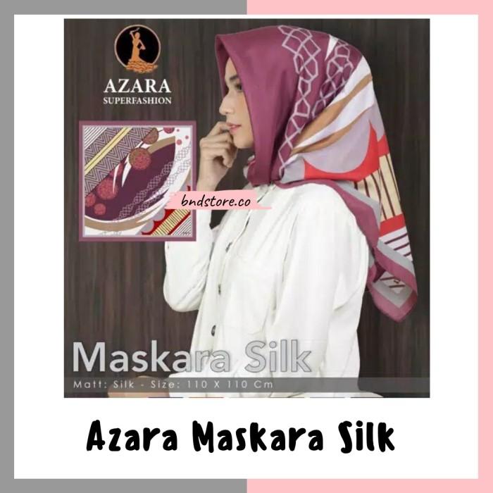 Foto Produk Jilbab azara maskara silk dari bndstore.