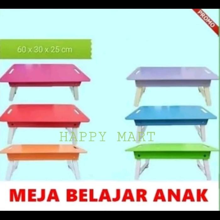 Foto Produk Meja Belajar Lipat 6030,Meja Lipat anak dari Happy Mart 21