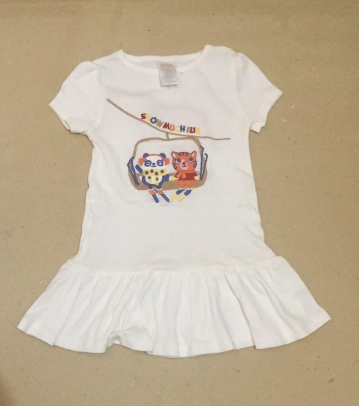 Foto Produk Dress Gymboree Snow much fun - Putih, 2-3 tahun dari au'let