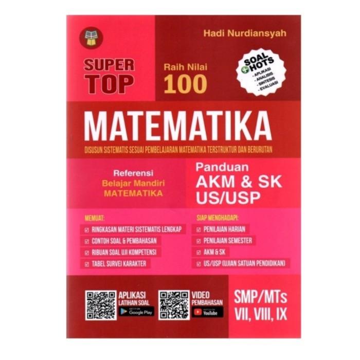 Jual Buku Super Top Raih Nilai 100 Matematika Akm Sk Smp Mts Kelas 7 8 9 Jakarta Barat Senang Hati 05 Tokopedia