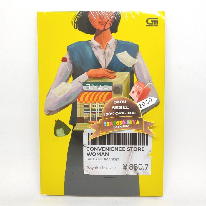 Foto Produk Gadis Minimarket - Convenience Store Woman - by Sayaka Murata dari Santoso Jaya Bookstore