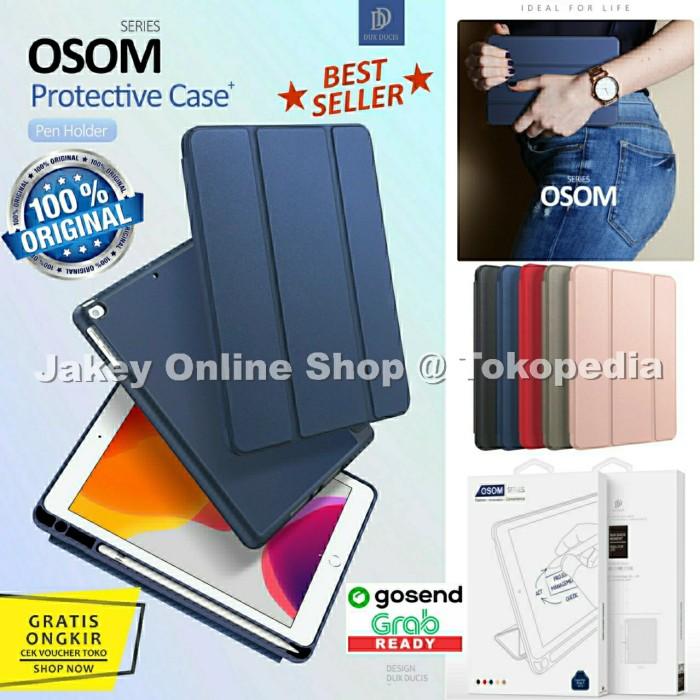 Foto Produk Case iPad 7 10.2 inch 7th-gen 2019 Dux Ducis Osom Series Cover Casing - Black dari Jakey Online Shop