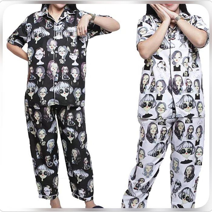 Foto Produk piyama katun / Baju tidur wanita / piyama cp / piyama karakter dari MR Colection Bandung