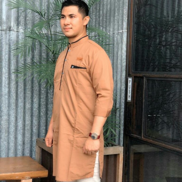 Foto Produk Baju koko gamis pria modern dari makmur makmur