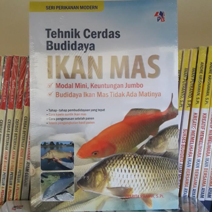 Jual Buku Teknik Cerdas Budidaya Ikan Mas Kota Yogyakarta Belik Ilmu2 Tokopedia