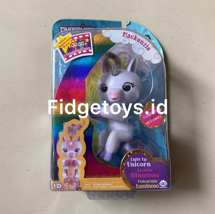 Foto Produk Fingerlings Baby Unicorn Interactive Collectible Animals dari Fidgetoys.id