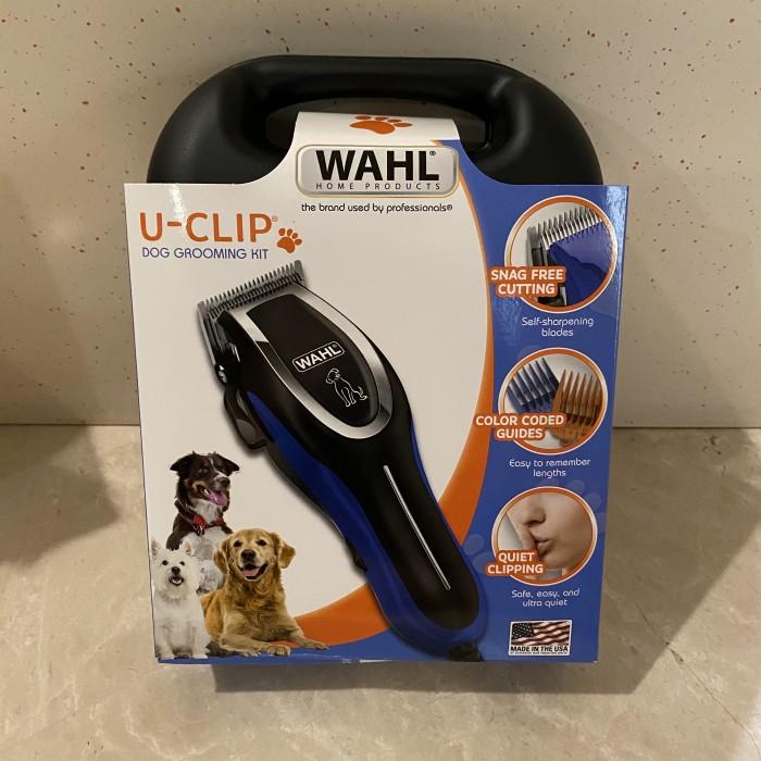 Foto Produk WAHL U-Clip Dog Clipper Kit USA ORIGINAL dari Cygnus Gadget Store