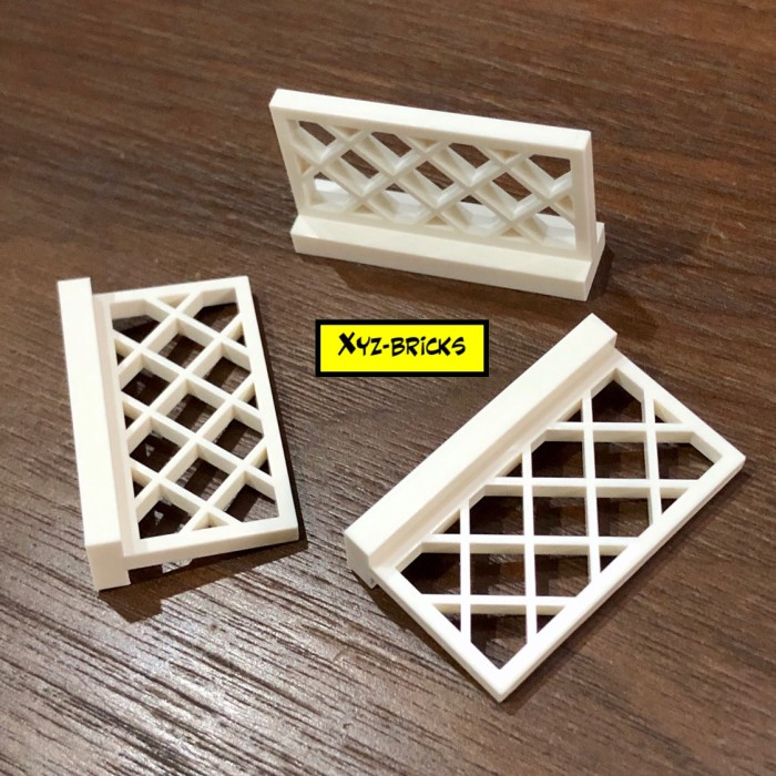 Parts /& Pieces A Lego White FENCE 1X4X2-4587272