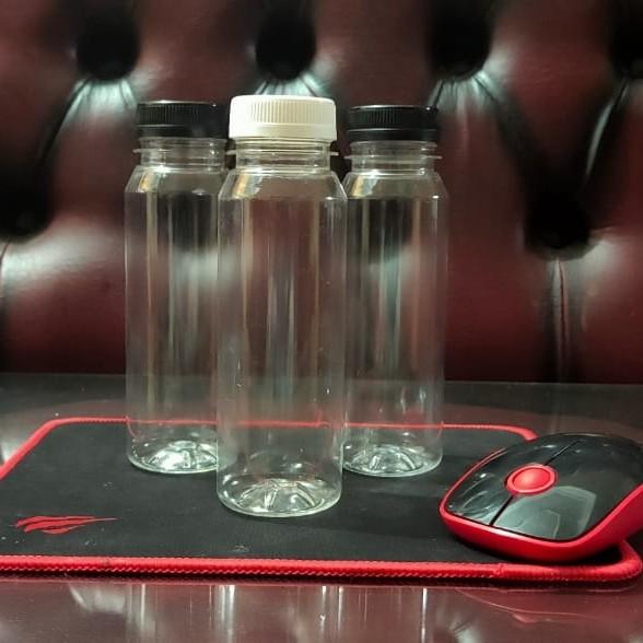Foto Produk Botol Plastik KALE 250ml Pet Termurah (Kopi, Susu, Thai Tea, Juice) - Putih dari gerai kongkow